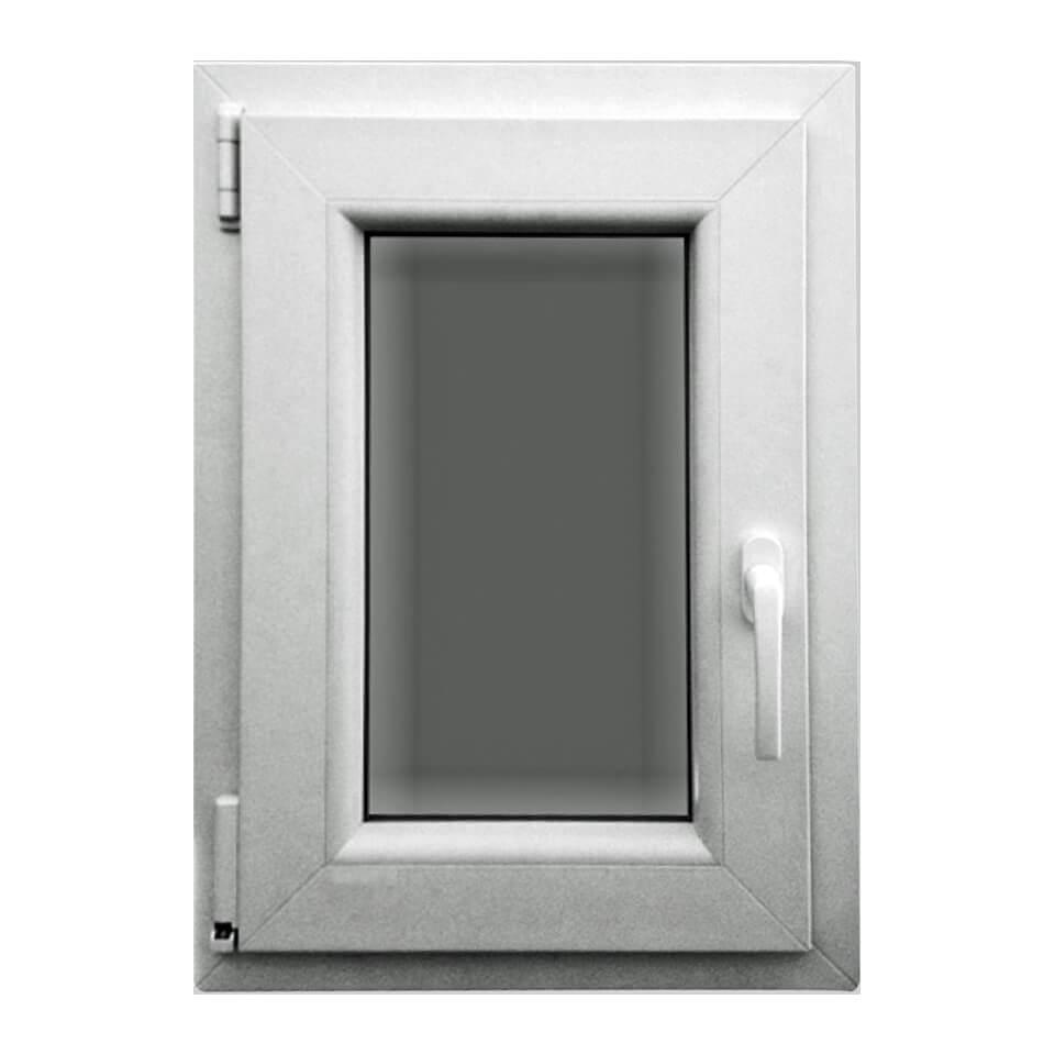 Akf dreh kipp fenster profi570 kunststoff 1 fl gelig for Wohnraumfenster kunststoff